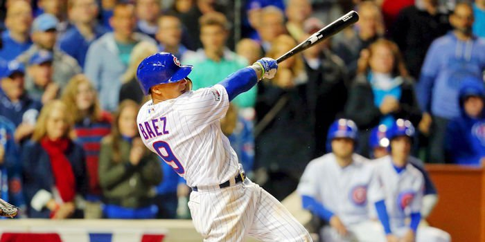 Cubs second baseman Javier Baez has now hit four career home runs at Coors Field, with his two-run shot tonight essentially sealing the win over the Colorado Rockies for Chicago.