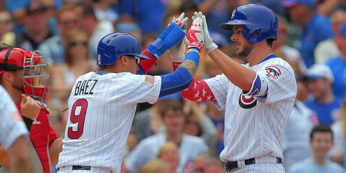 Cubs beat Reds for 10th time out of 11 games
