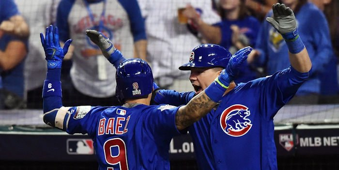 Cubs hope to be celebrating again in 2018 (Ken Blaze - USA Today Sports)