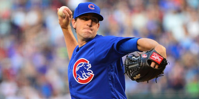 Although Kyle Hendricks pitched fairly well on Sunday, he received little run support, as the Cubs struggled at the dish.