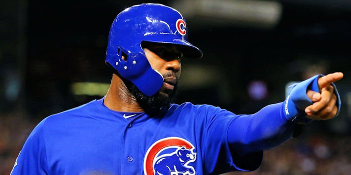 Chicago Cubs right fielder Jason Heyward fared well at the plate on Sunday, collecting three RBI, in addition to the walk-off hit.