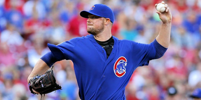 Jon Lester struggled from the start in the Cubs' loss to the Rays.