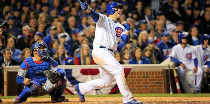 Anthony Rizzo walked the Cubs off in spectacular fashion to put a bow on Chicago's memorable home opener.