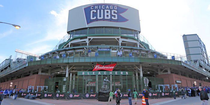 Cubs charities gets $1 million if Cubs batter hits Wintrust sign