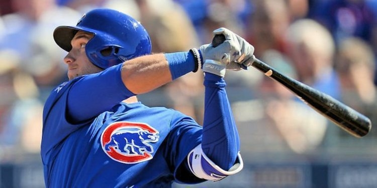 Almora Jr. was 3-3 with a homer and 4 RBIs (Charles LeClaire - USA Today Sports)