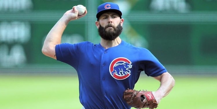 The Cubs have some interest in Jake Arrieta for 2021 (Charles LeClaire - USA Today Sports)