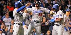 Hernandez hits three homers as Dodgers send Cubs packing