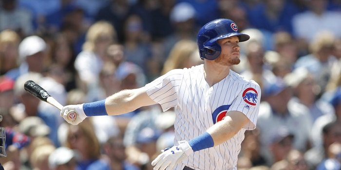 Rookie Cubs sensation Ian Happ hit his third home run in four games on Wednesday. Credit: Caylor Arnold-USA TODAY Sports