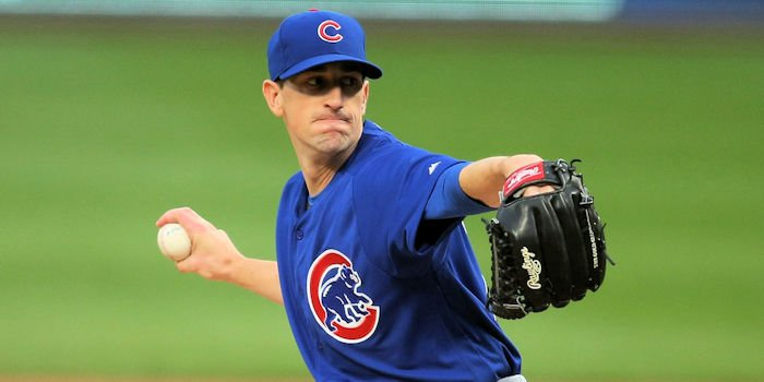 Cubs ace Kyle Hendricks was in top form tonight. The same cannot be said about the Cubs' batters.