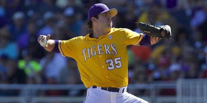 Alex Lange is a promising prospect (Bruce Thorson - USA Today Sports)