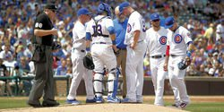 Lester and Grimm to DL, Two Cubs relievers called up