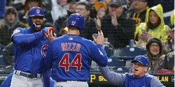 Cubs lineup vs. Rockies, Rizzo out