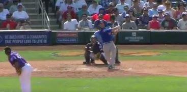 WATCH: Szczur smacks two-run homer vs. Rockies