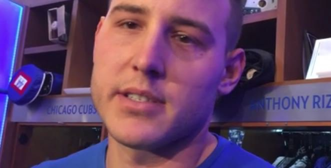 WATCH: Rizzo discusses saying goodbye to Szczur
