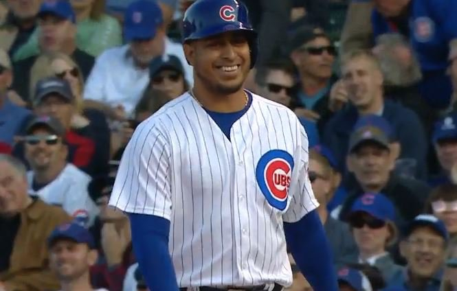 WATCH: Rondon with his first major league hit