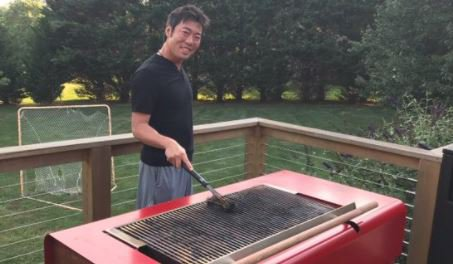 Uehara shows off grilling skills during All-Star break