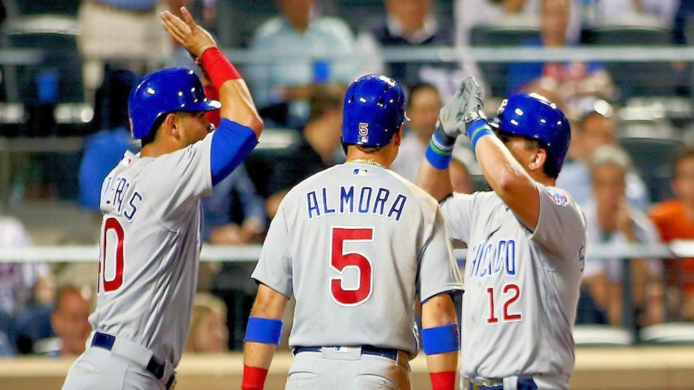 Seven runs scored in the final three innings provided the Cubs with their second straight win against the Mets. (Photo Credit: Andy Marlin-USA TODAY Sports)