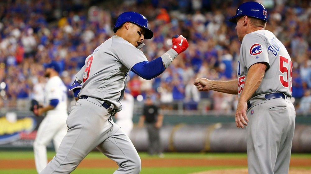 Javier Baez is sixth in the National League in home runs (25) and first in the National League in RBI (88). (Photo Credit: Jay Biggerstaff-USA TODAY Sports)