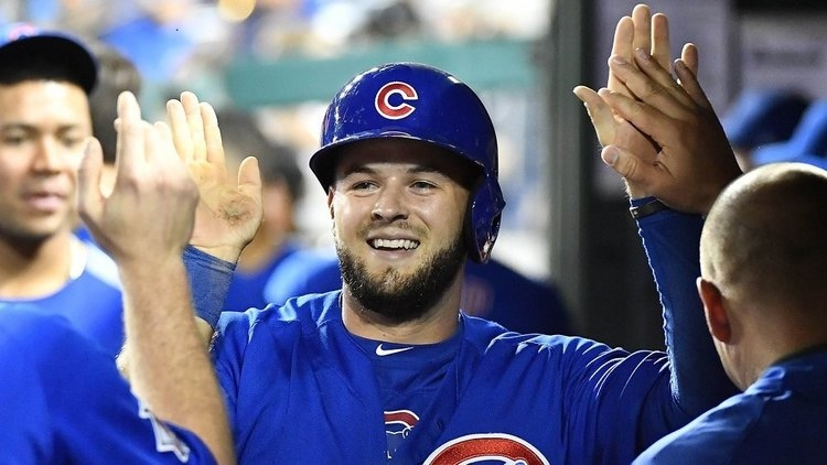 Bote is starting at third base tonight (Brad Mills - USA Today Sports)