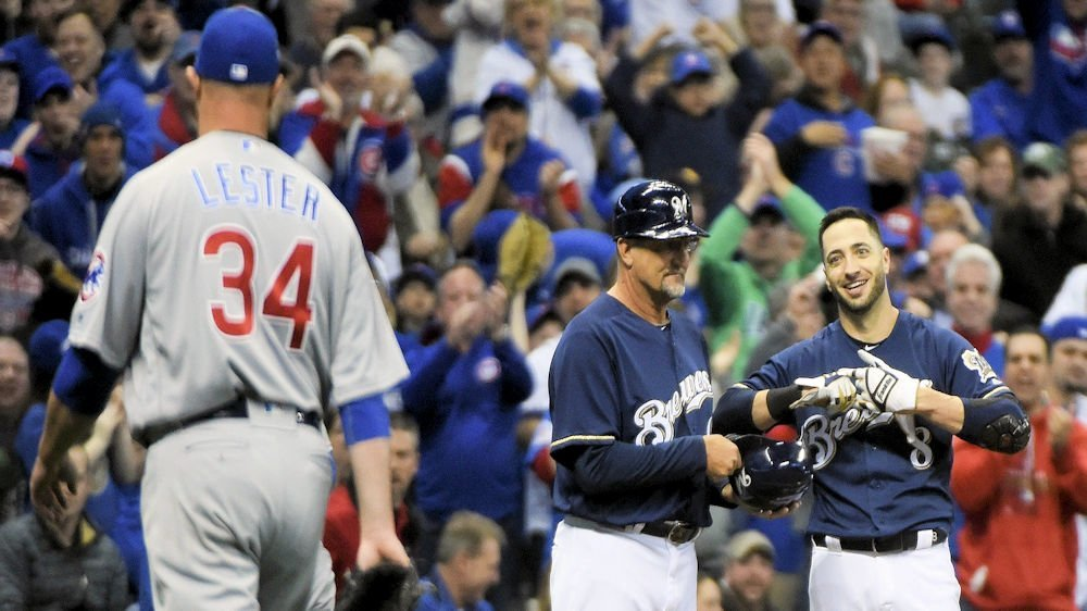 The Brew Crew are right on heels of Cubs (Benny Sieu- USA Today Sports)