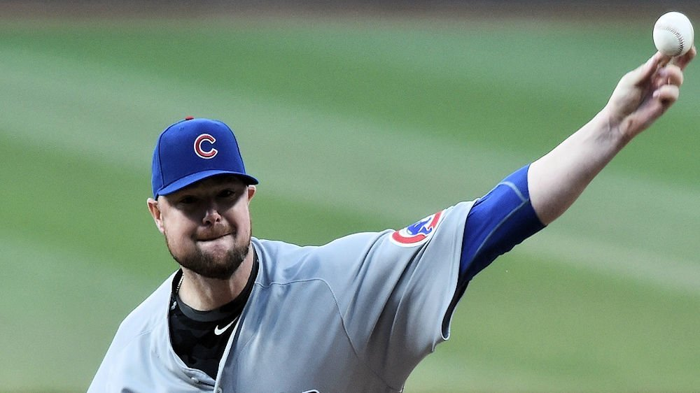 Charged with just four hits and two walks in seven innings of work, Jon Lester was handed an unfortunate loss. (Photo Credit: Ken Blaze-USA TODAY Sports)