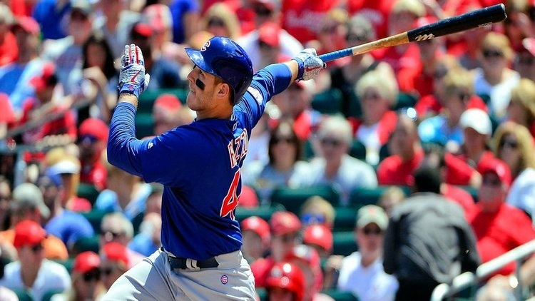 Bryant and Rizzo hope to continue to get on-base this spring (Jeff Curry - USA Today Sports)