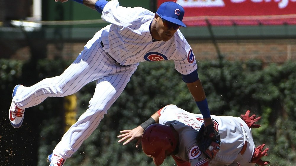 The Cincinnati Reds came up with just enough critical plays to top the Chicago Cubs. (Photo Credit: David Banks-USA TODAY Sports)