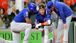 Astros reach settlement with parents of girl hit by ball fouled off by Albert Almora Jr.