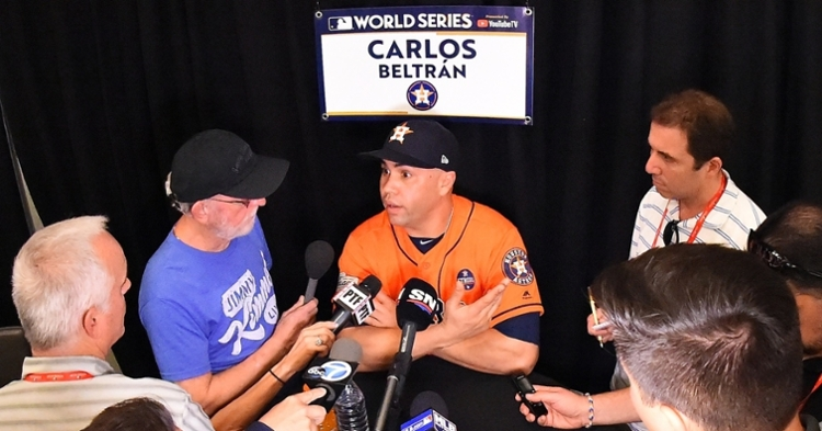 Beltran is out before he even managed a ballgame (Jayne Kamin Oncea - USA Today Sports)