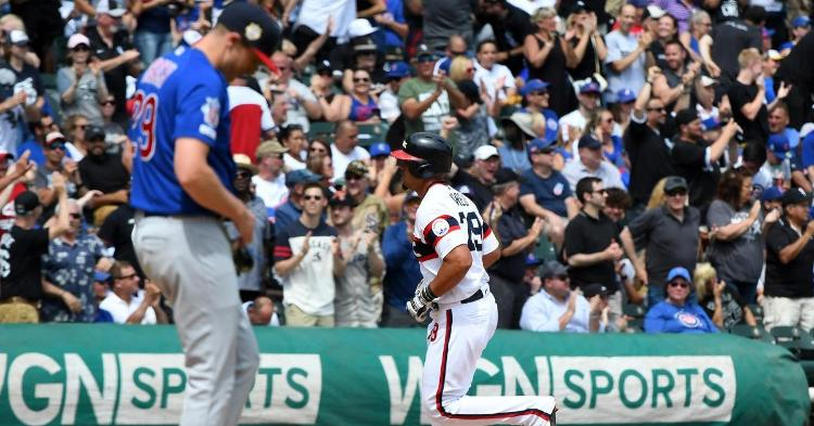 The four runs scored in the contest were produced via three home runs, two of which were hit by the White Sox. (Credit: Mike DiNovo-USA TODAY Sports)