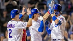 Fly the Sweeping W, Cubs in first place, KB's slam, Javy being Javy, more