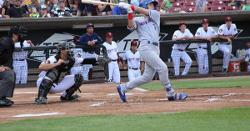 Down on Cubs Farm: Happ homers in loss, Marquez impressive, Roederer's two homers, more