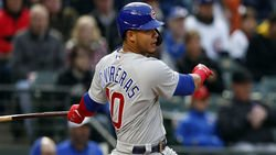 Led by feisty Willson Contreras, Cubs wallop Braves in series opener