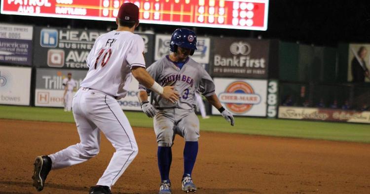 Clayton Daniel had an impressive five hits (Photo credit: Larry Kave)