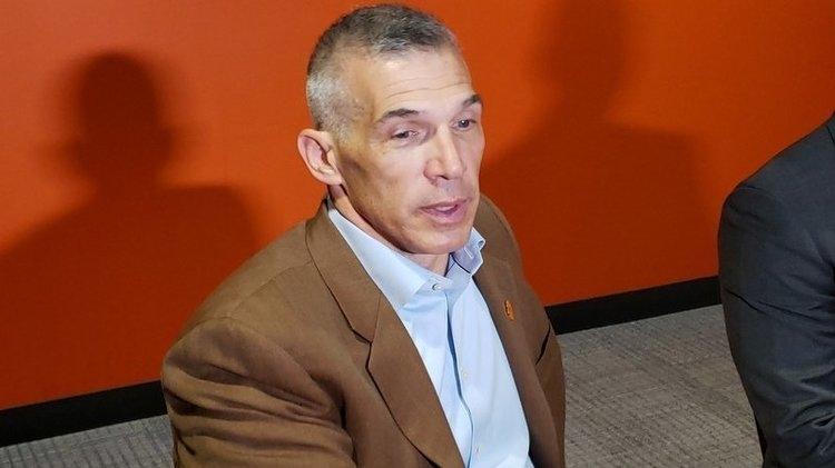 Girardi spoke to reporters Saturday night