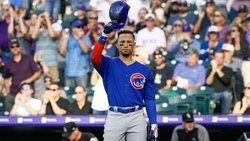 Cubs lose homer-heavy duel as 'CarGo' returns to Coors Field