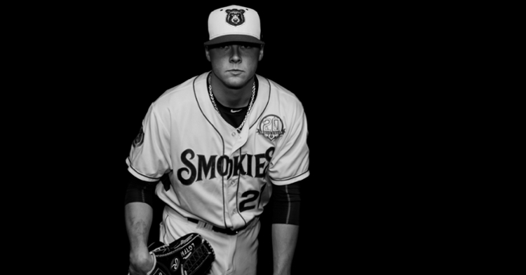 Justin Steele is now with the Cubs (Photo credit: Smokies)