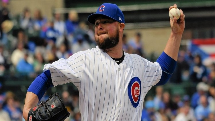 Jon Lester took the loss on Thursday, as a lack of run support did him in. (Credit: Matt Marton-USA TODAY Sports)