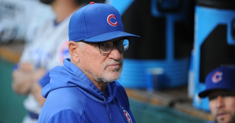 For the first time in the Joe Maddon era, the Chicago Cubs will miss out on the postseason this year. (Credit: Philip G. Pavely-USA TODAY Sports)
