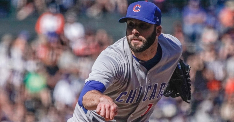 Morrow was always trying to get healthy with the Cubs (David Kohl - USA Today Sports)