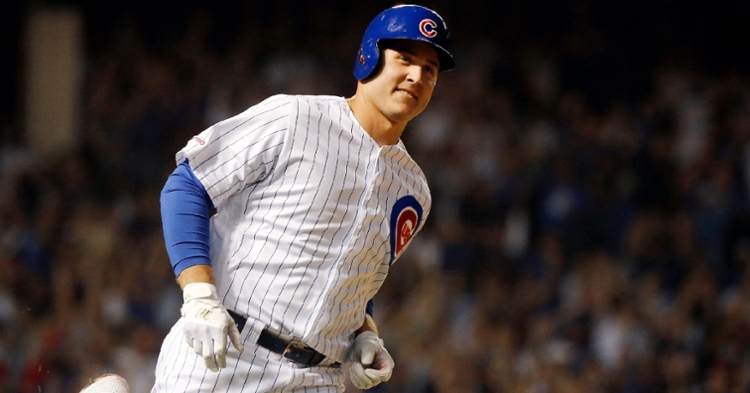 Rizzo is back at leadoff tonight (Jon Durr - USA Today Sports)