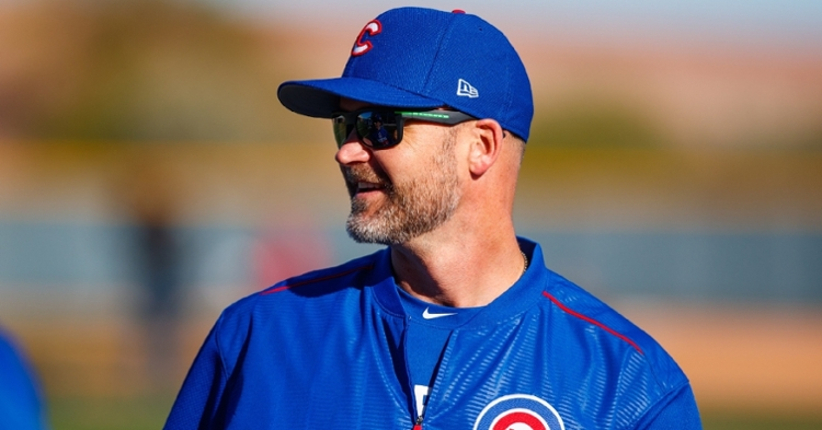 David Ross has had a surreal first year as the Cubs manager