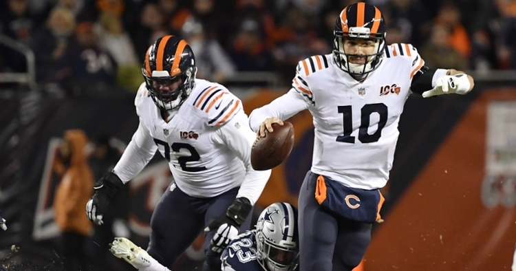 Trubisky has use his legs when plays break down (Quinn Harris - USA Today Sports)