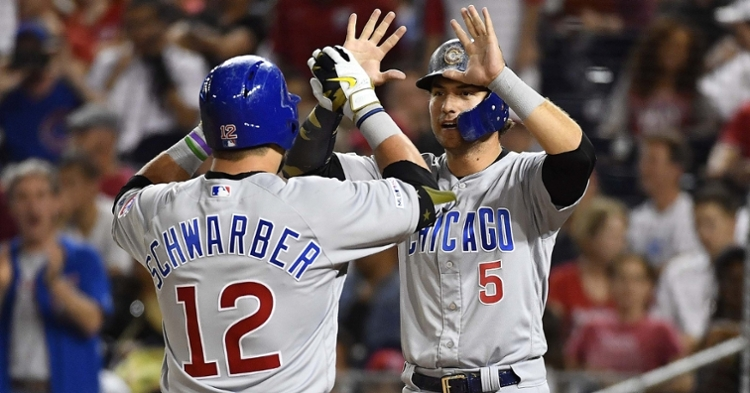 Schwarber and Almora were both non-tendered by Cubs (Brad Mills - USA Today Sports)