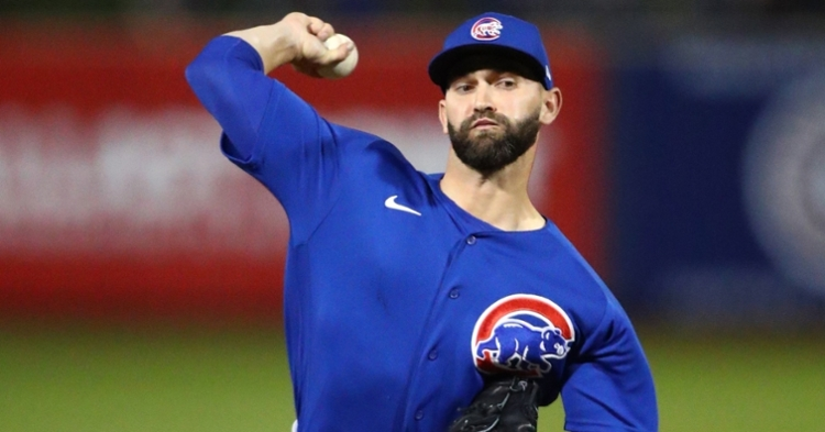 Tyler Chatwood has had a solid spring (Mark Rebilas - USA Today Sports)