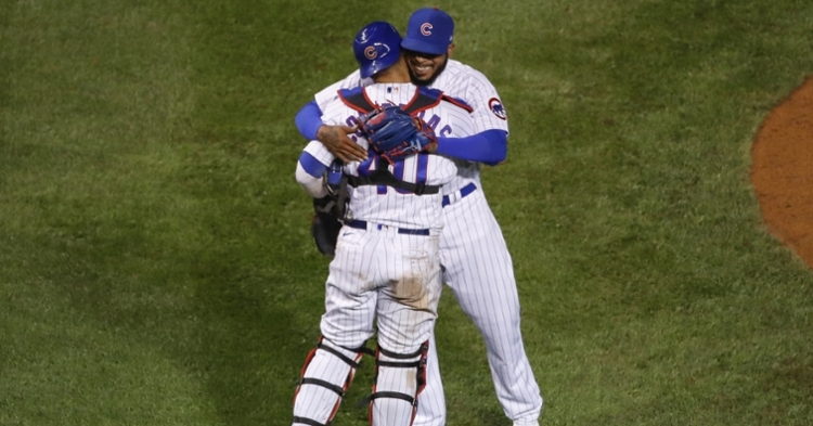 Jeffress was a leader for the Cubs last season (Kamil Krzaczynski - USA Today Sports)