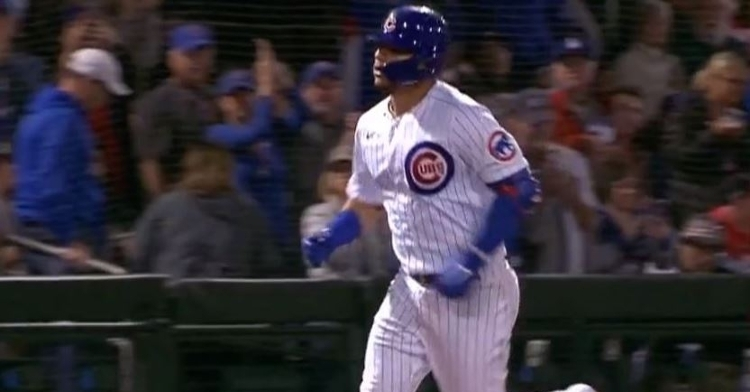 Contreras was impressive with a long homer on Saturday night