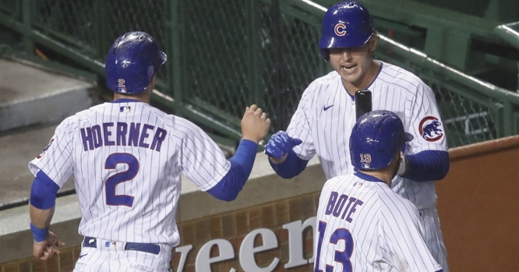 Anthony and Chris talk about the future of the Cubs (Kamil Krzaczynski - USA Today Sports)