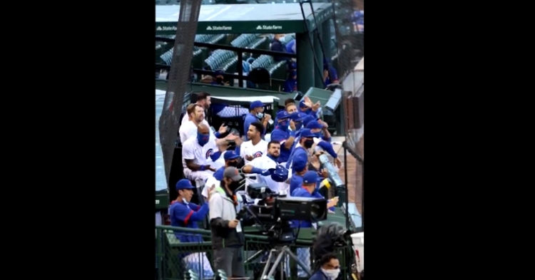 The Chicago Cubs have consistently clapped along to one of Anthony Rizzo's catchy walkup tunes this season.