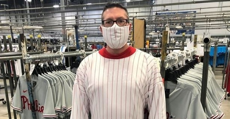 Fanatics making medical equipment out of MLB jersey fabric to help healthcare workers